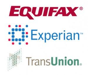Equifax, TransUnion, Experian