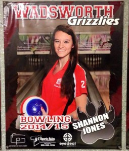 Wadsworth senior Shannon Jones finishes well in OHSAA Division I state bowling tournament