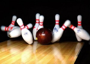 Grizzlies Boys Bowling Team on fire