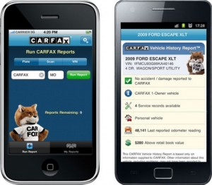 Free Carfax app automatically notifies you of vehicle recall, repairs