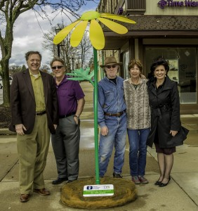 Wildflower arrives in downtown Wadsworth from Akron Children's Hospital