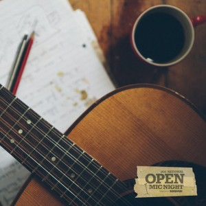 Open mic night Shure at Sonnets