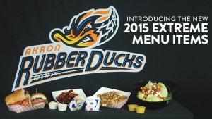 Akron RubberDucks unveil 2015 extreme food menu