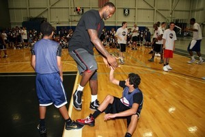 LeBron James basketball camp
