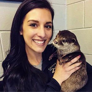 A love for animals leads to zoo career for Kaylee Maple