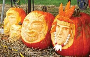 Tinas Travels, pumpkins