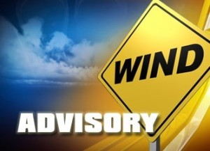Wind Advisory in effect for March 16, 2016