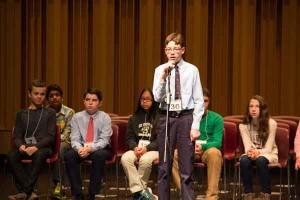 Medina student Owen Kovalik wins Regional Spelling Bee again