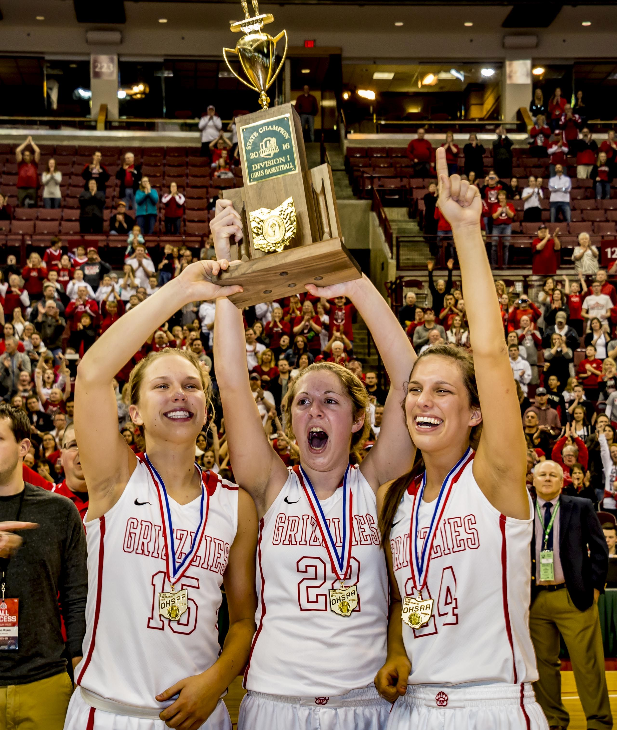 Wadsworth Lady Grizzlies win state division 1 basketball championship