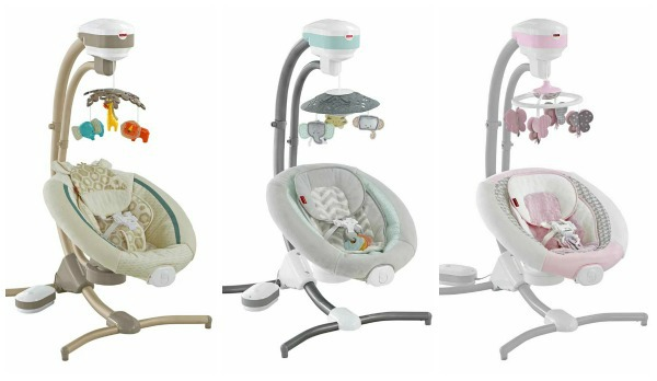 Fisher Price recalls cradle swings due to falling hazard