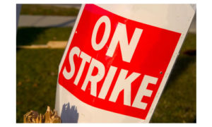 on-strike