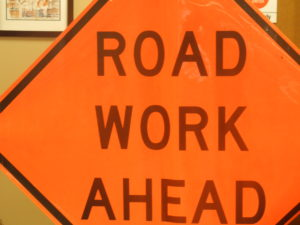 More Road Work on College Street