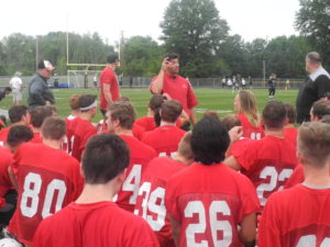 Football is back!  Wadsworth is on the gridiron.
