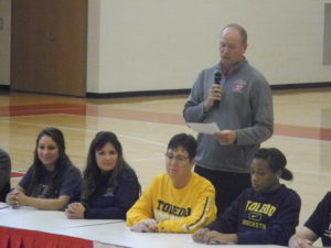8 Wadsworth Athletes sign National Letters of Intent