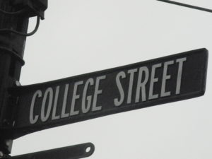 College Street Re-opens