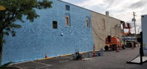 Mural number two coming to Downrown Wadsworth.