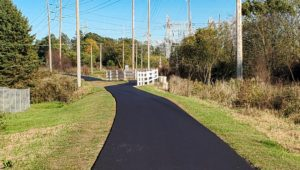 Repaving completed along Interurban Trail