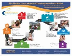 Facts about Medina County Board of DD Issue 12 renewal operating levy