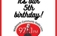 Happy birthday to us! Wadsworth Community Radio turns 5!
